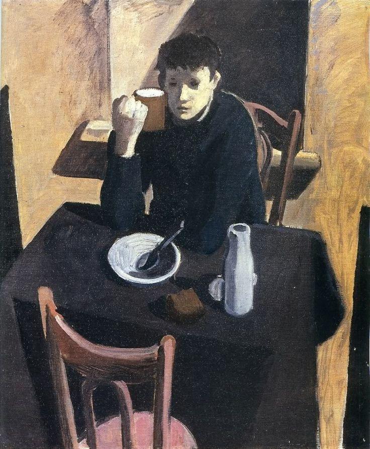 Андрей Васнецов (Andrey Vasnetsov): Завтрак, 1962.