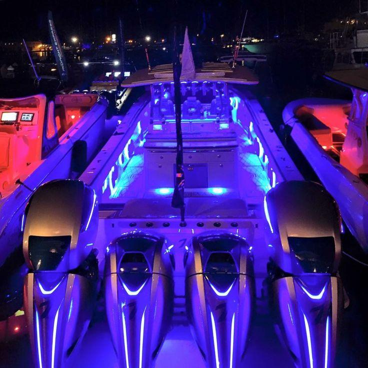 Hydrasports and Seven Marine lighting up the night. | SICK ...