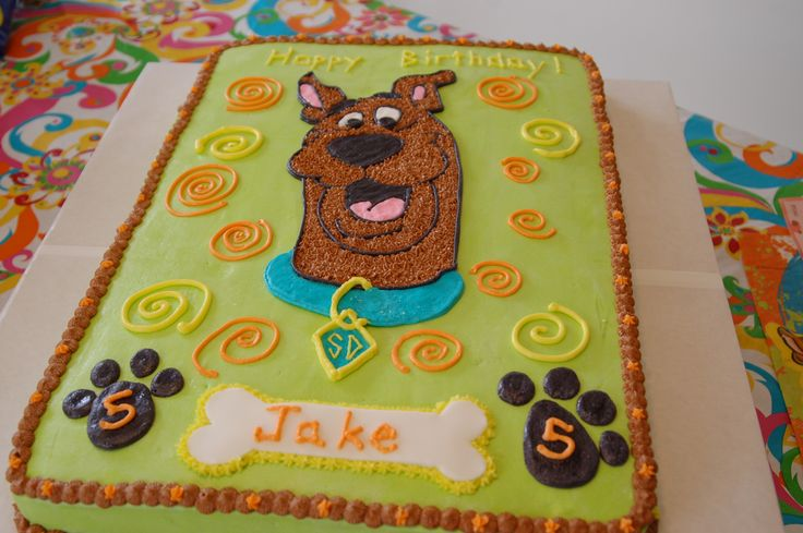 Scooby Doo Sheet Cake | Scooby Doo Cake Garret wants this one