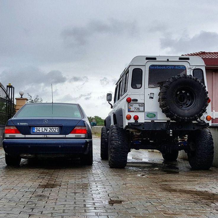 Mercedes Benz W140 S500L Land Rover Defender 110 TD5 #landrover #landroverdefender #mercedes #mercedesbenz #defender #td5 #landy #4x4 #w140 #sclass #sklasse #legendcar #cars #carporn #luxurycar #luxuryliving #offroad #offroading #extreme #interco #luxurylife #s500l #s500 #v8power by selimustaoglu Mercedes Benz W140 S500L Land Rover Defender 110 TD5 #landrover #landroverdefender #mercedes #mercedesbenz #defender #td5 #landy #4x4 #w140 #sclass #sklasse #legendcar #cars #carporn #luxurycar…