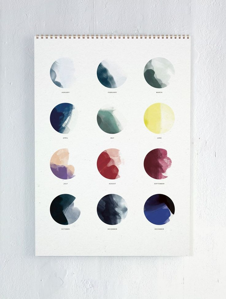 2016 MOON CALENDAR BY ATWTP | PAPER COLLECTIVE - design posters