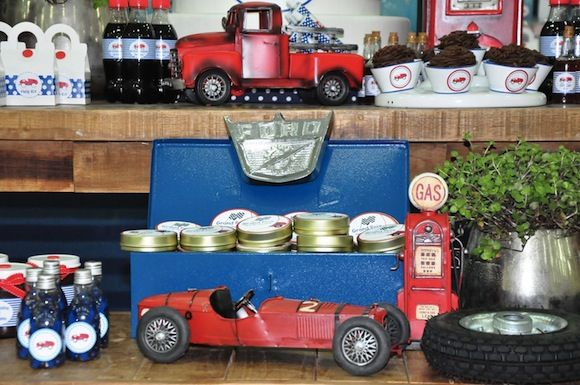 Vintage car party and has a cute plane party on the same blog @Lisa Phillips-Barton P