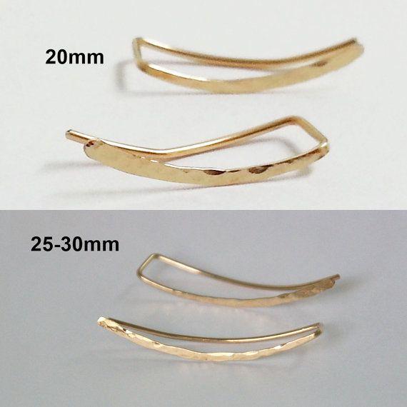 Scalatori orecchini scalatore dell'orecchio orecchio oro