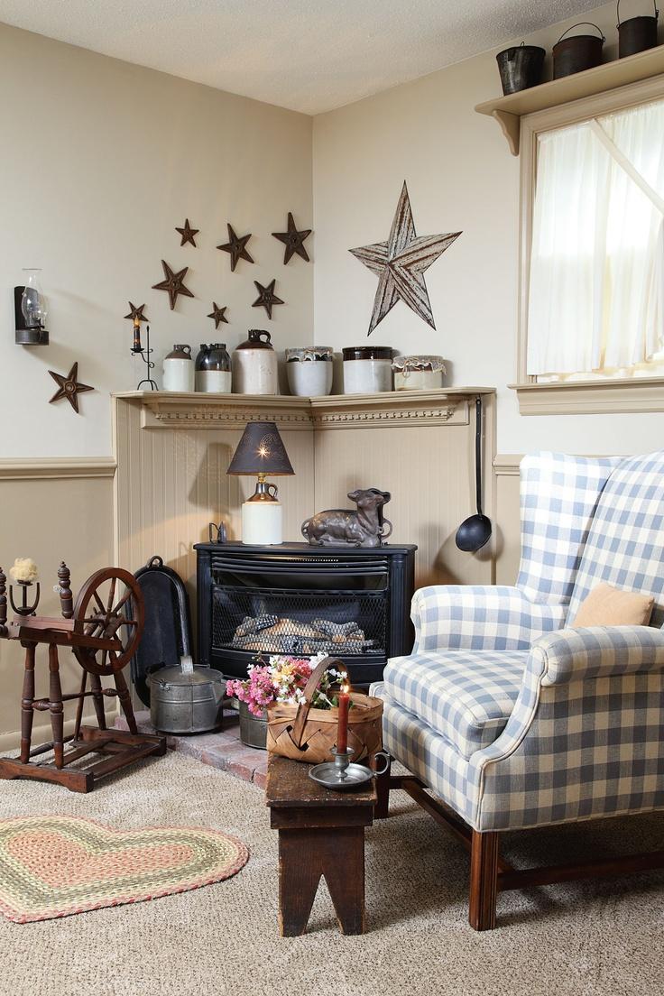 329 best images about primitive decoration on pinterest for Primitive decorating ideas for living room