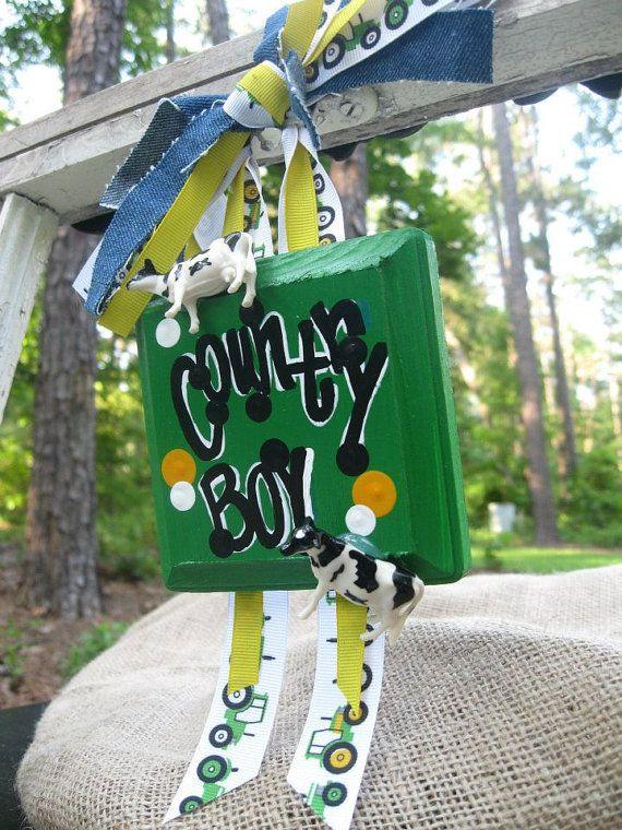 John Deere Bunk Bed Kit : Summer sale john deere country boy mini ribbon sign
