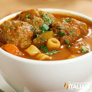 Italian Meatball Soup (CHECK OUT OUR NEW LOOK)