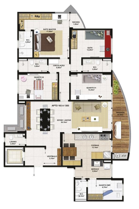 461 best Arquitectura images on Pinterest Arquitetura, Floor plans - plan maison plain pied 80m2