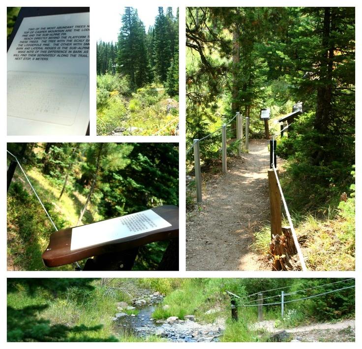 Braille Trail, a blind-person hiking trail in Casper, Wyoming