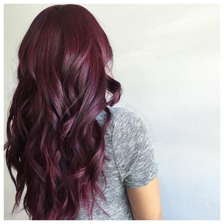 25+ best Dark red hair ideas on Pinterest | Dark red hair ...