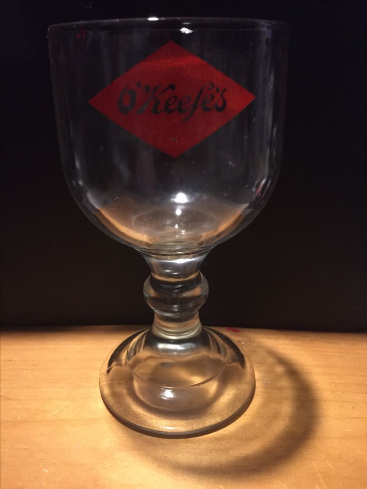 O'Keefe's Beer Glass