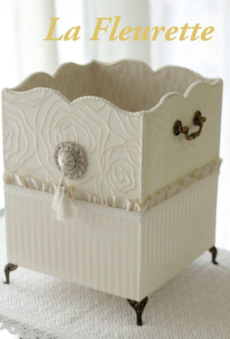 素敵すぎるダストボックス。。。の画像   布のインテリア*La Fleurette の Diary