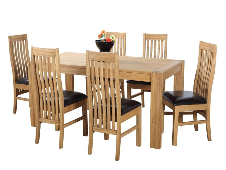 1000 ideas about oak dining room set on pinterest