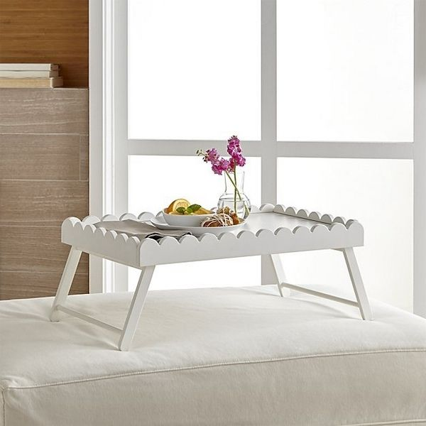 White Bed Tray Table With Folding Legs Mothers Day Gift Ideas Breakfast Tray Table Bed Romantic Bed Tray Bed Tray Table Cool Beds