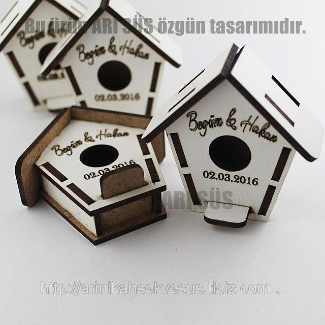 Kafes Nikah Şekeri Ahşap Kutu (İsim Kazıma Fiyatı Dahil) (ID#1031767): satış, İstanbul'daki fiyat. Arı Nikah Şekeri Ve Süs adlı şirketin sunduğu Lazer Kesim Ahşap obje Ve Kutular #nikah #şekeri #malzeme #kafes #magnet #ahşap #lazer #kesim #kuşlu #toptan #imalat  #kutu #ağaç #kelebek #yuvarlak