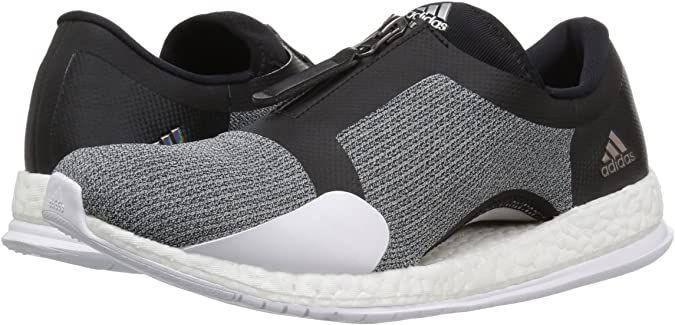 Amazon.com | adidas Women's Pureboost X TR Zip Running Shoe | Road ...