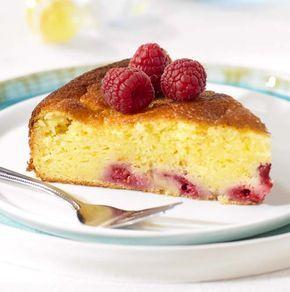 Cake met verse kaas en frambozen | Colruyt
