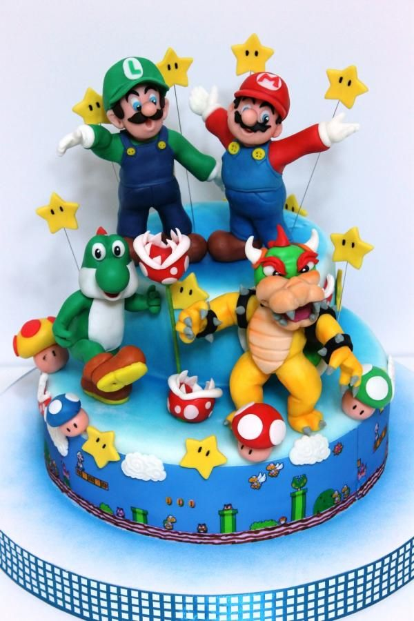 Super Mario Bros Cakes Amp Cake Decorating Daily