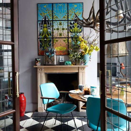 Eclectic Restaurant Decorating: 61 Best SPRING&theCOLORtrend Images On Pinterest