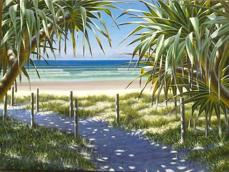 Artist Mark Waller from tv show Colour in your life