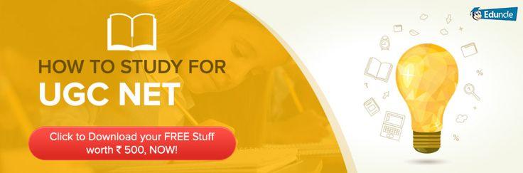 How to study for UGC NET Exam December 2016?