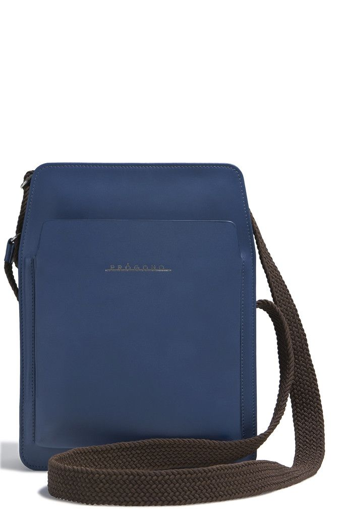 Itamaraty Messenger Bag. Blue