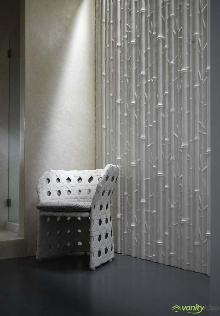 the wall surface gives a stunning effect that makes it a marvelous home decor