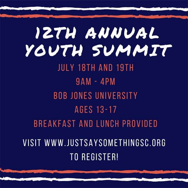 JSS's 12th Annual Youth Summit!