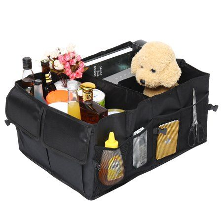 Foldable Storage Box Portable Collection Collapsible Cargo Bag Car Trunk SUV