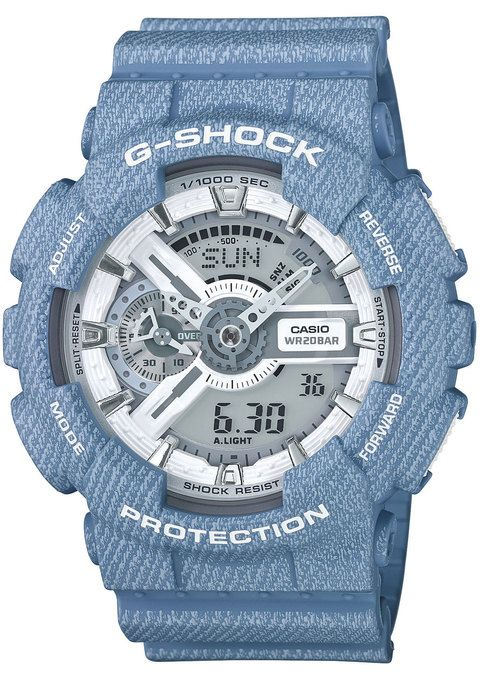 G-Shock GA-110DC Limited Edition Blue Denim watch is now available on Watches.com. Free Worldwide Shipping & Easy Returns. Learn more.
