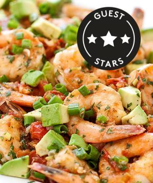... This Delicious (And Guilt-Free!) Dinner | Shrimp, Avocado and Tomatoes