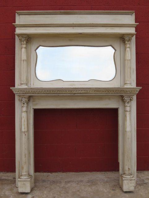 American Antique Fireplace Mantle Antique Fireplace Surround Antique Mantel
