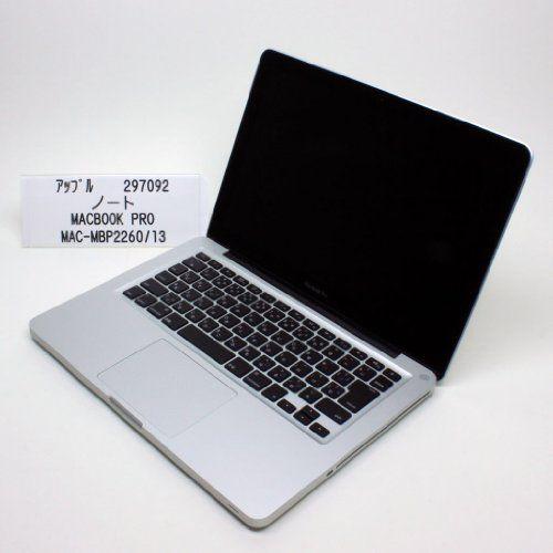 【中古】 アップル A4ノート MAC BOOK PRO/MAC-MBP2260/13 2.26GHz Core2Duo 160GB MB990J/A(297092), http://www.amazon.co.jp/dp/B00C2J3WKW/ref=cm_sw_r_pi_awdl_l1S9ub0479P73