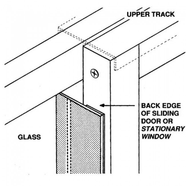 Fix Drafty Sliding Patio Door: 1000+ Images About Home Fix DIY On Pinterest