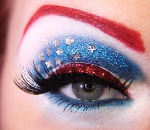 Captain America make up
