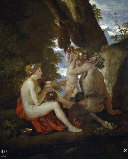 Nicolas Poussin - A Bacchic Scene (1630-1631), Museo Nacional del Prado, Madrid