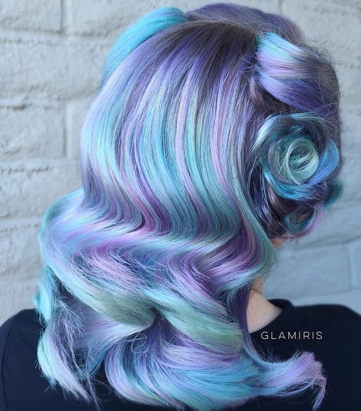 17 Best ideas about Blue Hair Highlights on Pinterest ...
