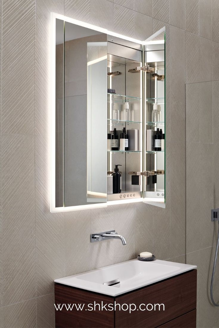 Geberit One Spiegelschrank 850x1000x160mm Inkl Beleuchtung 2 T Ren 500493001 In 2020 Spiegelschrank Badezimmerideen Badezimmer Trends