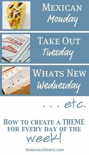 Best 25+ Meal planning templates ideas on Pinterest Weekly menu - menu for the week template