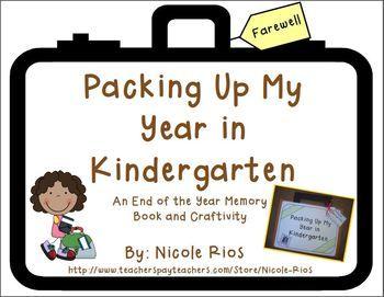 kindergarten end of year writing activities
