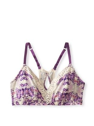 38% OFF Underella by Ella Moss Women's Bohemian Bliss Soft Cup Bra (Watermark Print)