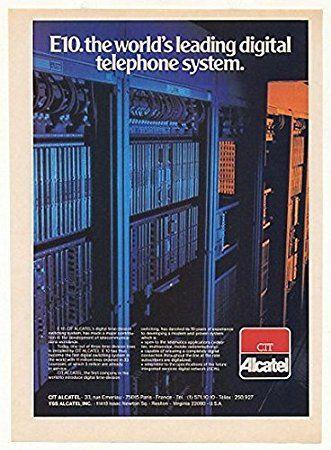 A brief history of the Alcatel E10