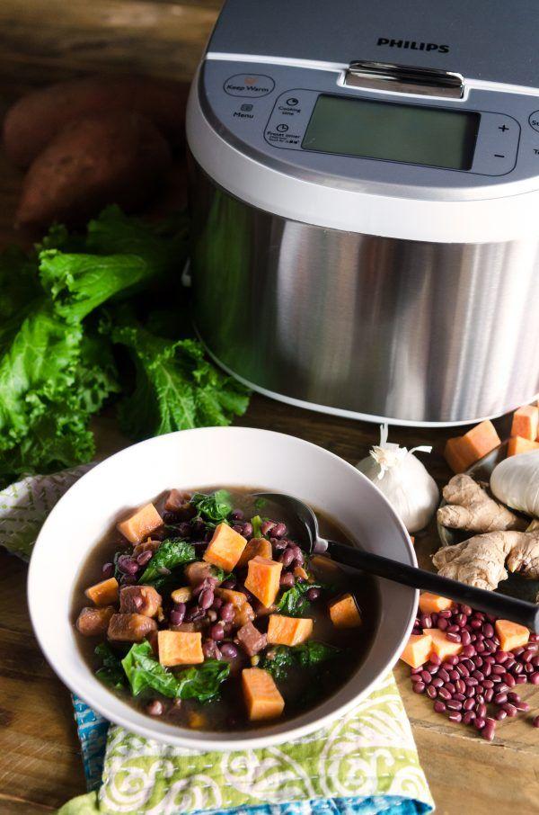 Sweet Potato Adzuki Bean Soup | Bob's Red Mill