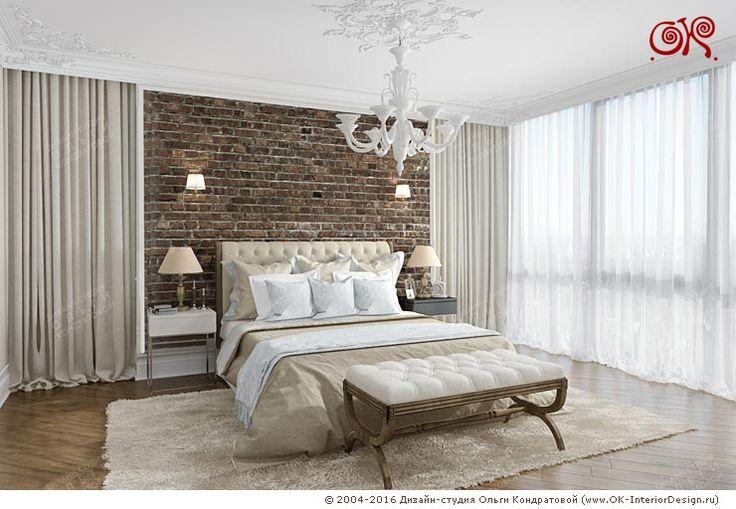 Фото интерьера просторной спальни в светлых тонах http://www.ok-interiordesign.ru/ph18_bedroom_interior_design.php
