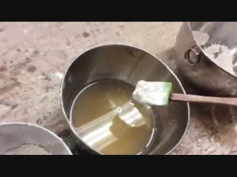 Traditional Water Gilding: Making Gesso