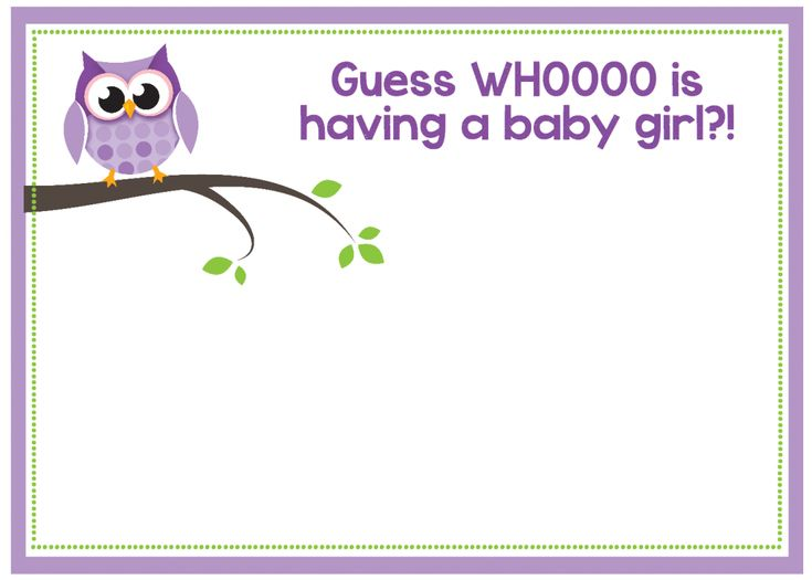 216 best Owls Printables images on Pinterest Owls, Free - free baby shower invitation templates for word