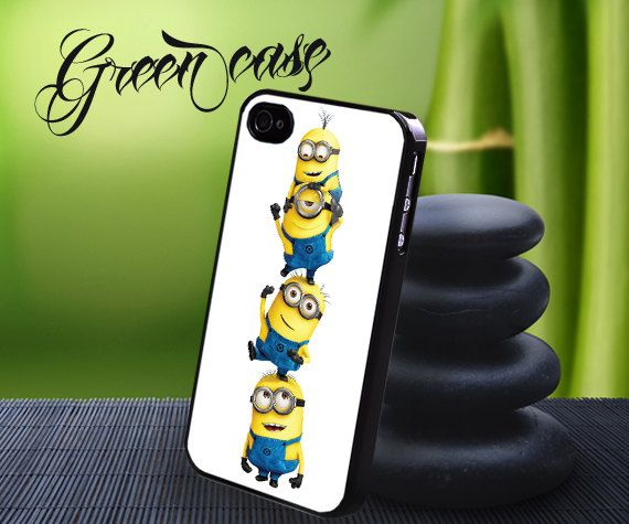 Hey, I found this really awesome Etsy listing at https://www.etsy.com/listing/164703577/minion-white-backgground-custom-case-for
