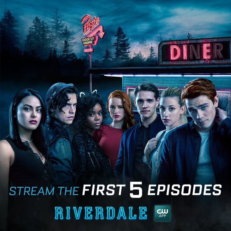 Darkness  has come  to #Riverdale  Stream   this season  from the beginning for free  on The CW App: