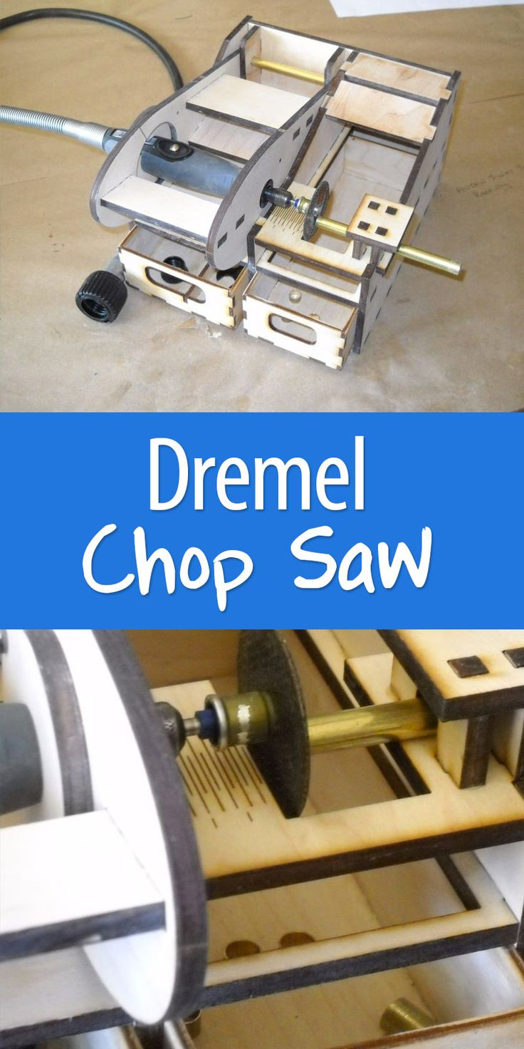 Turn your Dremel into a chop saw!