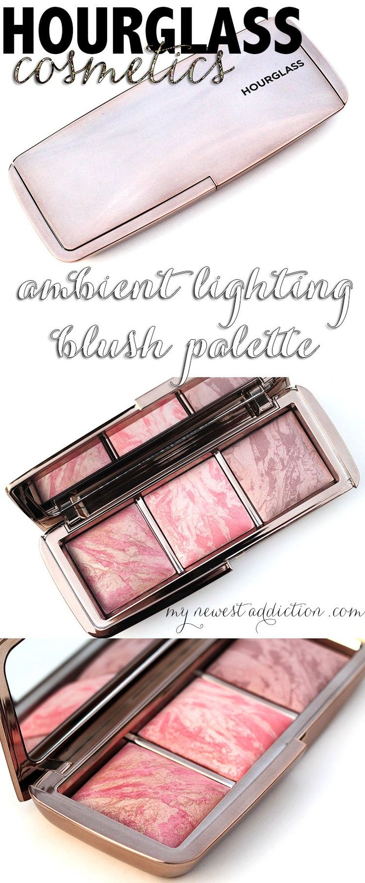 The best blush palette on the planet! @hourglassmakeup Hourglass Cosmetics Ambient Lighting Blush Palette - http://www.mynewestaddiction.com/2014/10/hourglass-ambient-lighting-blush-palette.html