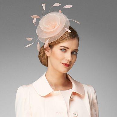 Shell Pink Hayden Fascinator - Fascinators - Hats & fascinators - Women -